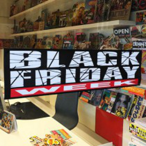 Affiche Black Friday 75X20CM