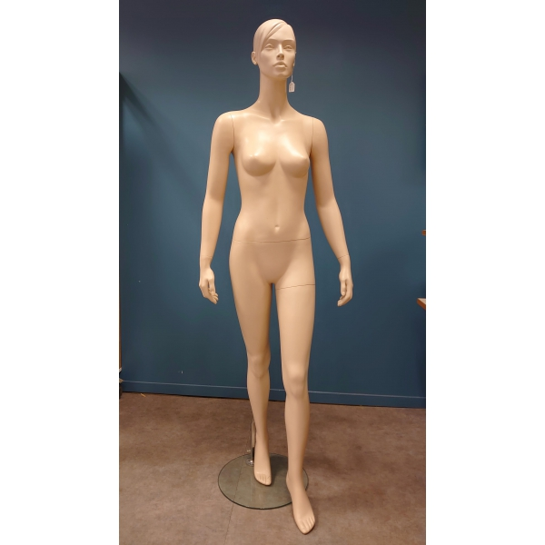 Mannequin tête oeuf femme